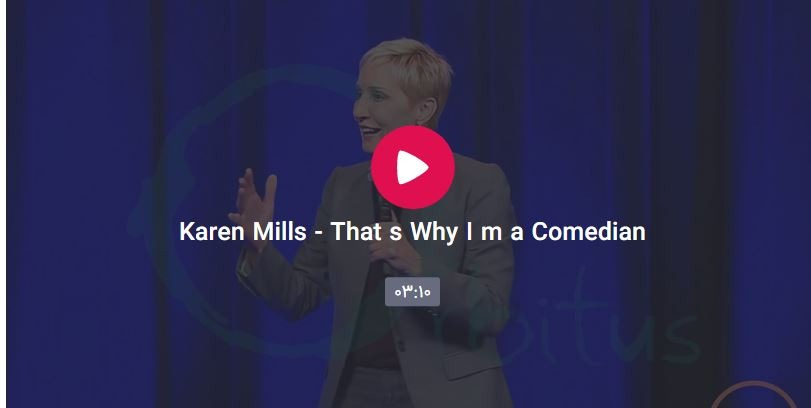 Capture - Karen Mills - That's Why I'm a Comedian