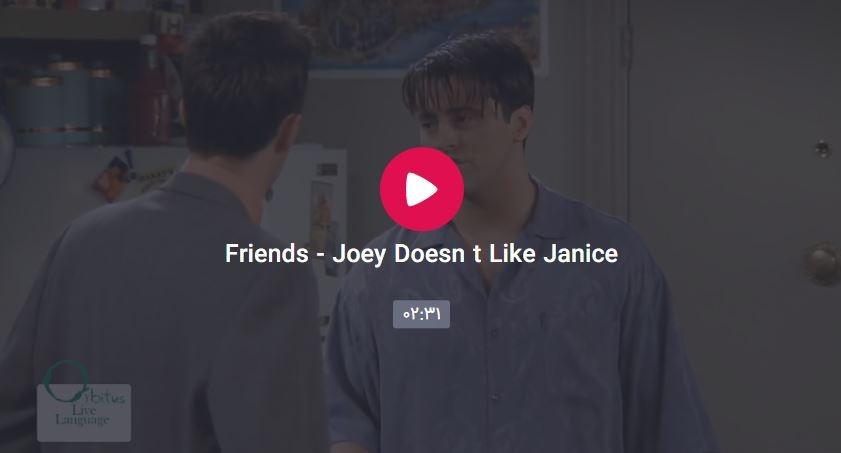 Cadadadadapture - Joey Doesn't Like Janice