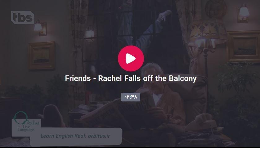Capteqeqeqeure - Rachel Falls off the Balcony