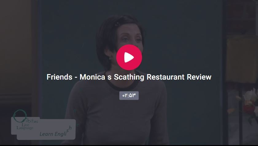 Crewrwrapture - Monica's Scathing Restaurant Review