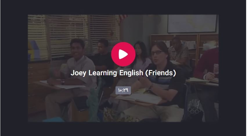 English with Friends : Joey Learning English