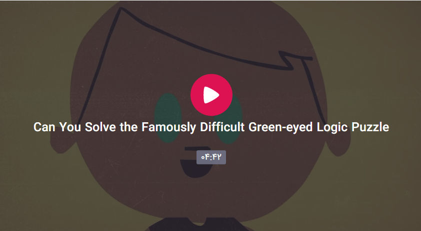 The Famously Difficult Green eyed Logic Puzzle - The Famously Difficult Green-eyed Logic Puzzle