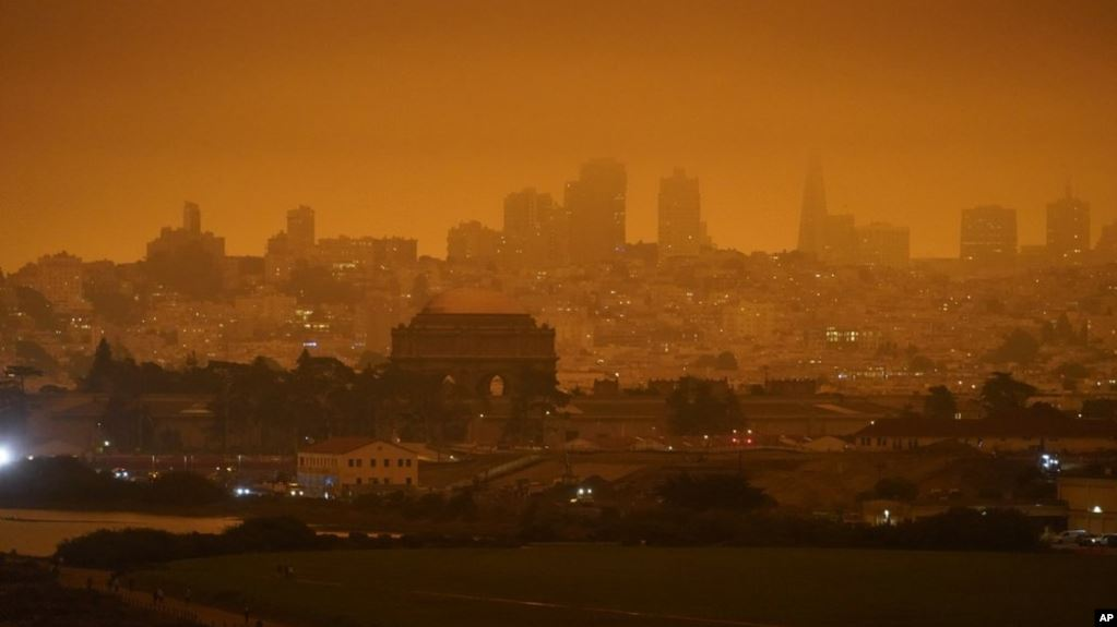 US Wildfire Smoke Causes Health Problems for Millions _s